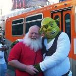 Santa and Shrek